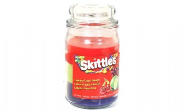 Skittles Scented Candle Cherry / Lime  / Grape  16oz